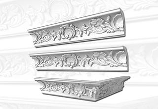 Decorative Plaster Cornice | Capstone Steel & Trading