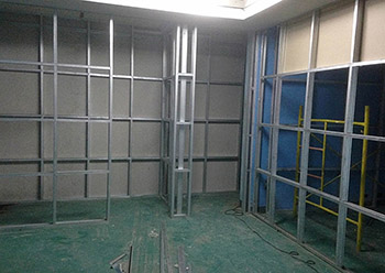Drywall Partition Capstone Steel Amp Trading
